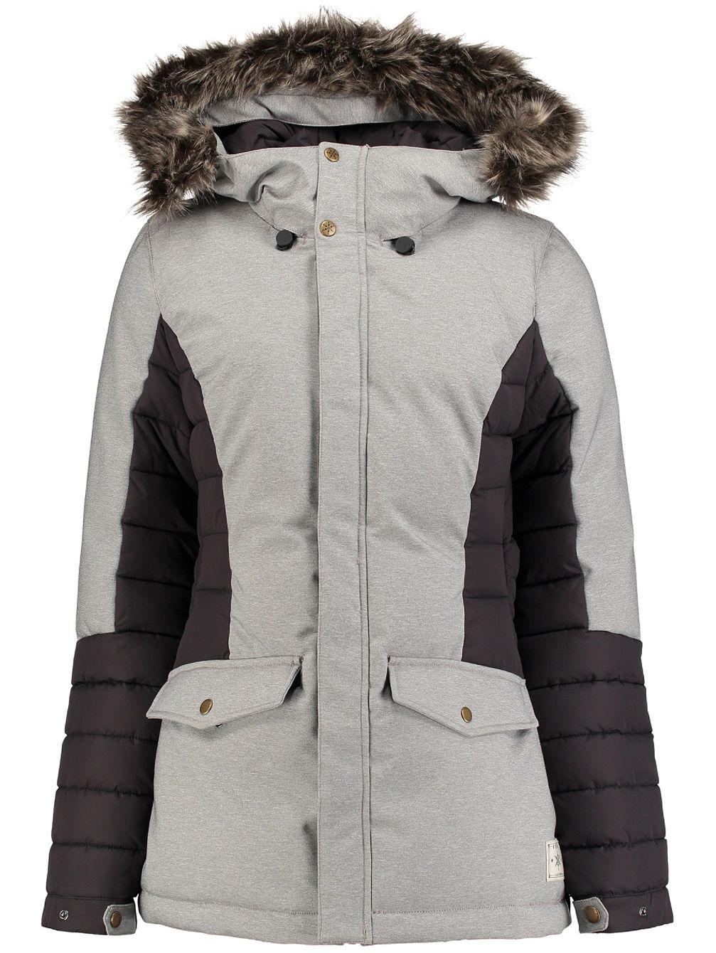 Artikel klicken und genauer betrachten! - O´Neill´s Feline Ski JacketFashionistas werden die Feline Damen Skijacke lieben. Sie ist ein wahrer Hybrid aus Streetstyle und Technologie die dank 10K/10K Waterproofing/Breathability, Belüftungen und taped Seams für die nächste Action bereit ist. Mit abnehmbarem Schneefang, dem Kunstfellbesatz an der Kapuze und der Stoffoptik ist sie ein Hingucker in der City und auf der Piste.   im Online Shop kaufen