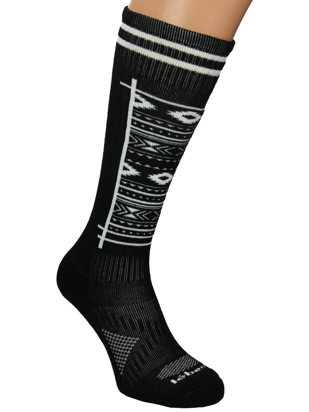 le-bent-definitive-light-aztec-socks