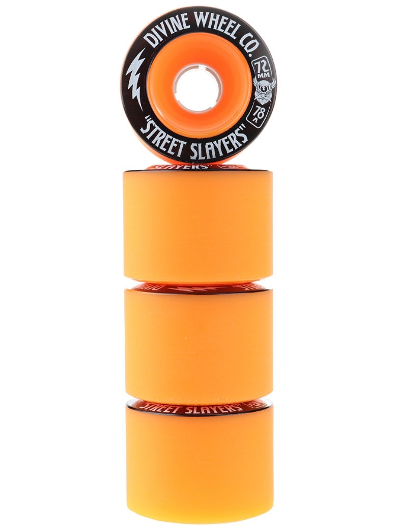 Street Slayers III 78A 72mm Longboard Wh