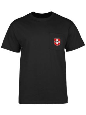 Bones Bearings Swiss Shield Pocket T-Shirt Preisvergleich