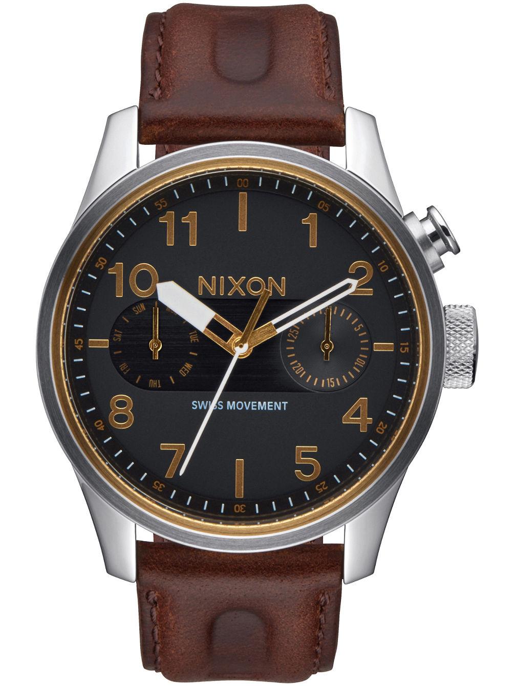 nixon-the-safari-deluxe-leather