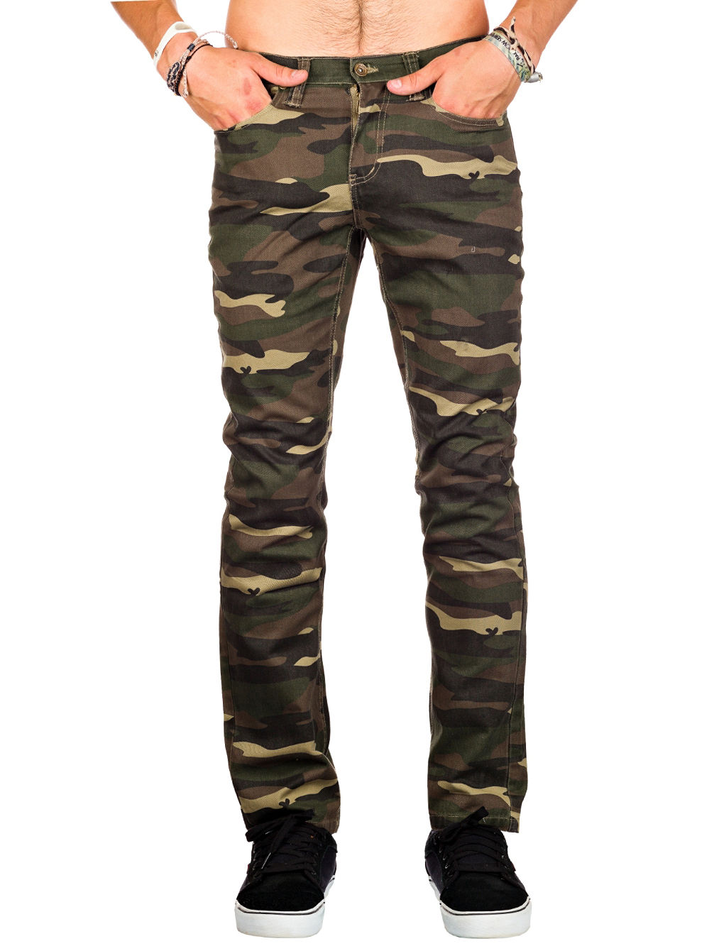 Buy Free World Messenger Pants Camo online at blue-tomato.com