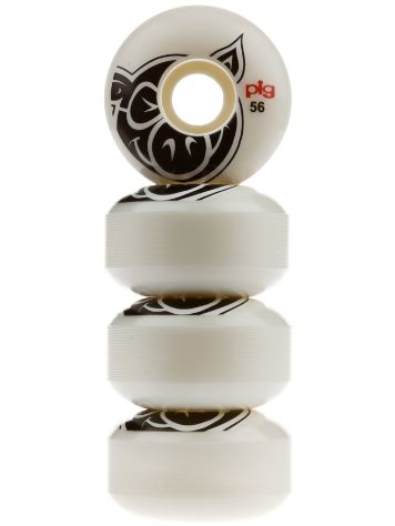 Pig Wheels Pig Head Natural 101A 56mm Wielen