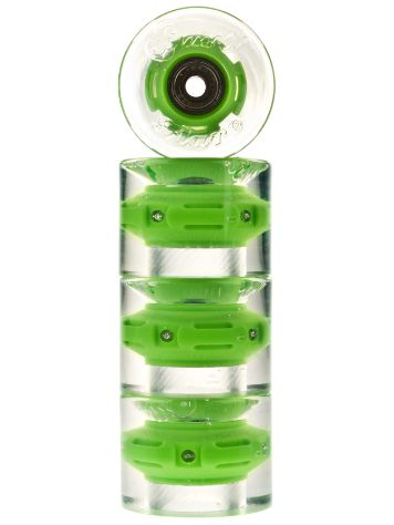 Sunset Skateboards Green 59mm Conical Cruiser Wielen