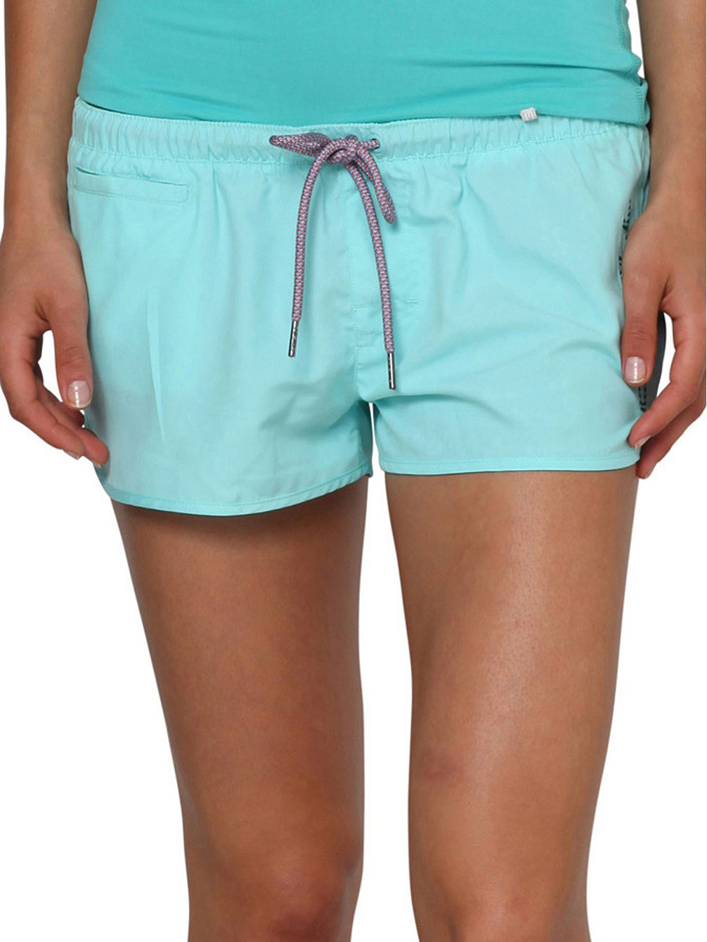 Chica Solid Boardshorts