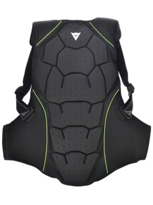 Dainese Back Protector Soft Flex Man black / green / flash Gr. M