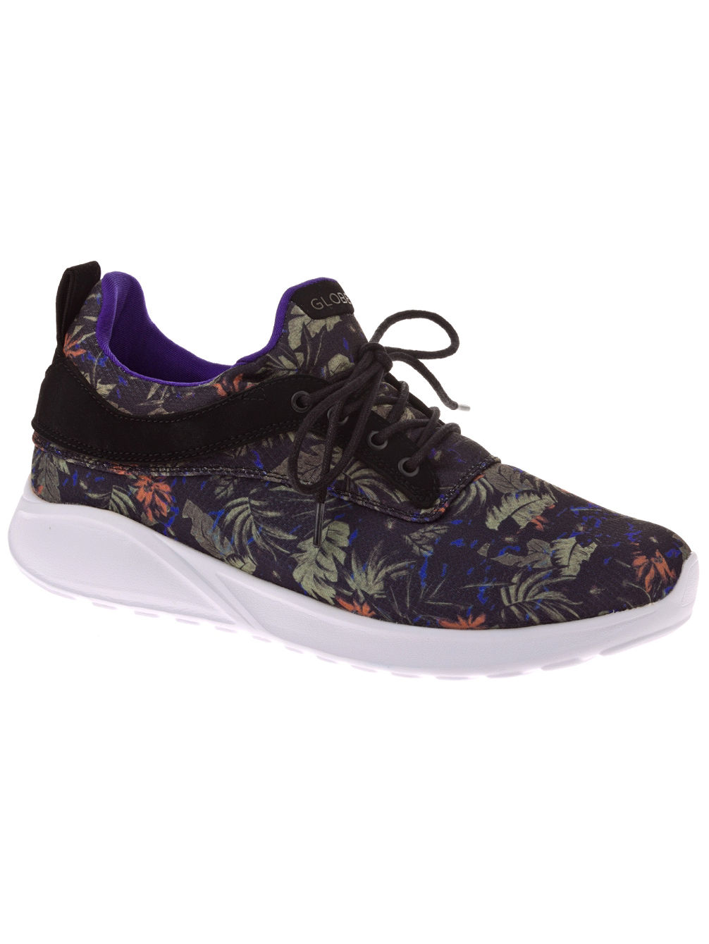 Globe Black Leaves Roam Lyte Shoes