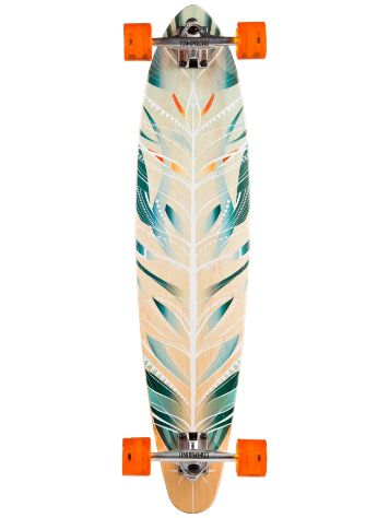 "Mercer Feathered Pin 37.25"" Longboard Complete"