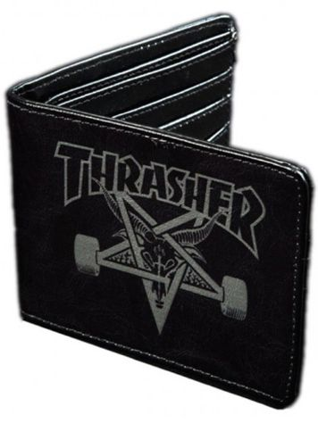 Thrasher Skate Goat Leather Cartera