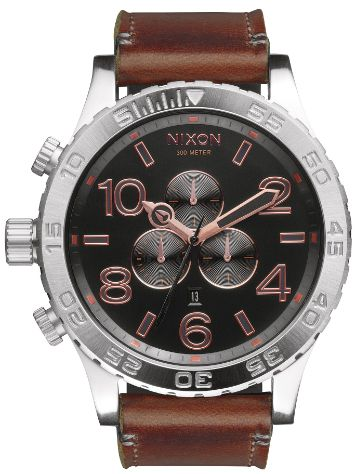Nixon The 51-30 Chrono Leather Uhr