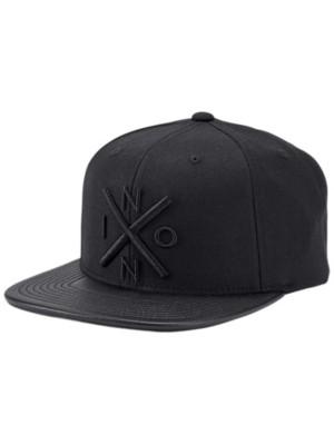 Nixon Exchange Snapback Cap all black / black Gr. Uni
