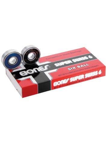Bones Bearings Super Swiss 6 Balls Bearings