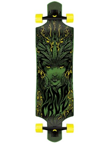 "Santa Cruz Drop Thru Weed Goddess 10"" Longboard Com"
