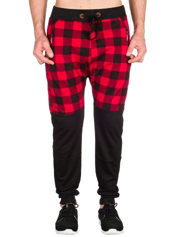 American Stitch Buffalo Plaid Half Print Jogginghose