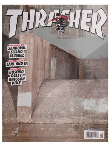 Thrasher Trasher Issue 2015 August