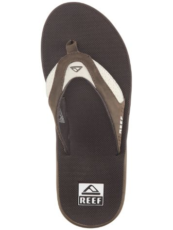 Reef Leather Fanning Sandalen