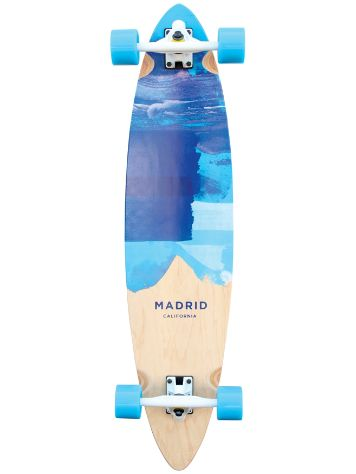 "Madrid Blunt 9.375"" x 38"" Blues Top Mount Completo"