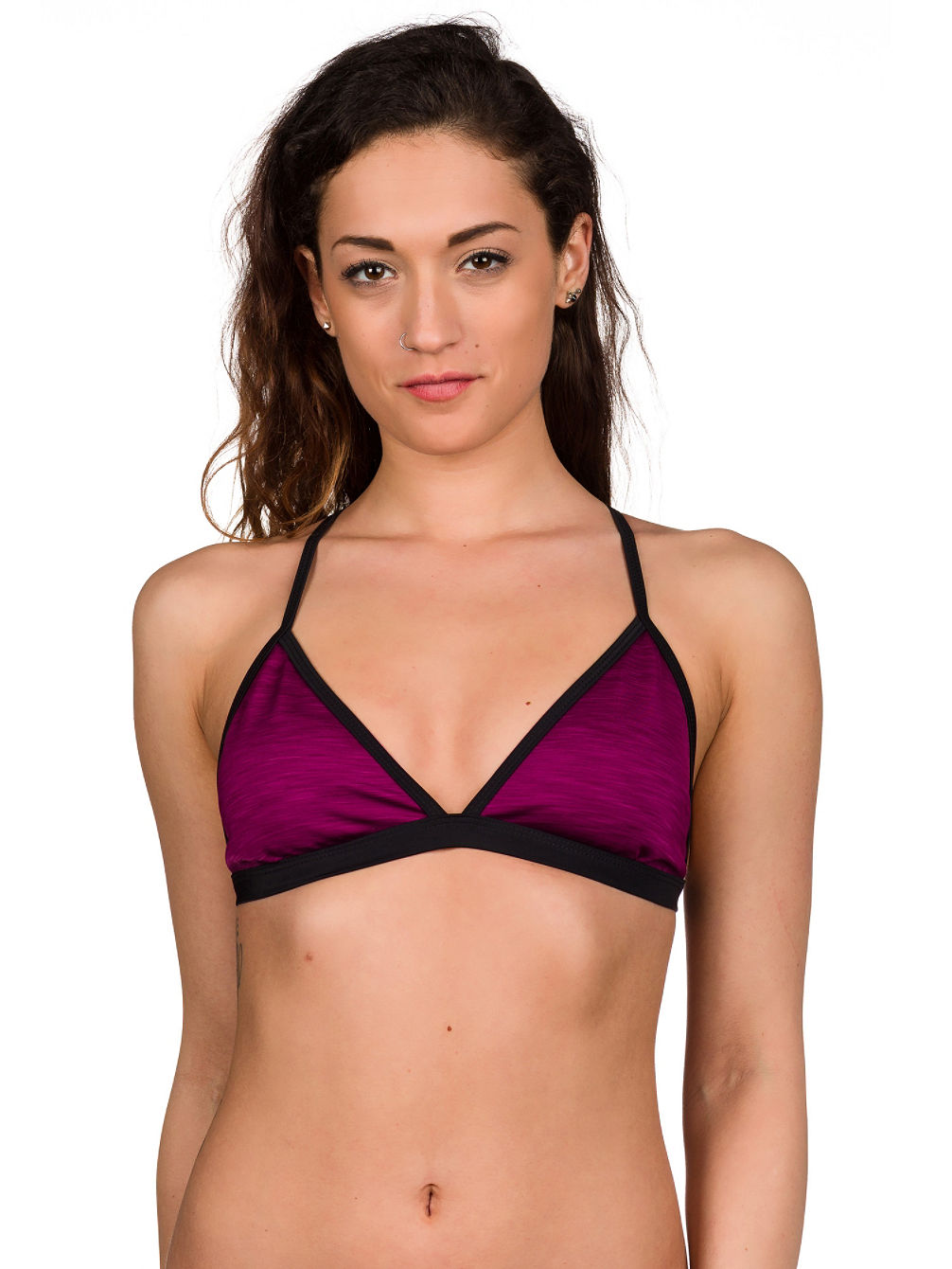 Double Spaced Reversible Soft Cup Bikini Top