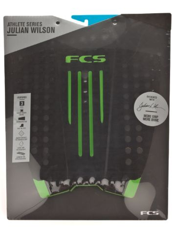 FCS Julian Wilson Black/Hot Lime Pad