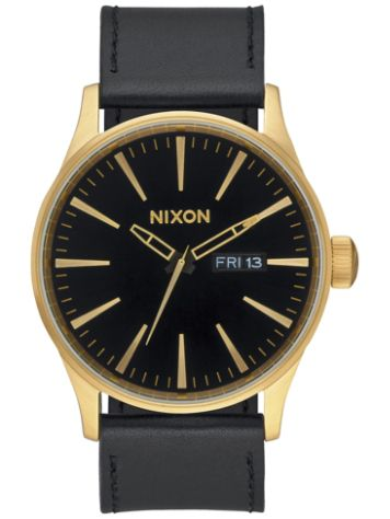 Nixon The Sentry Leather Horloge