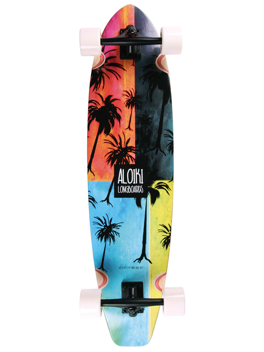 aloiki longboards bali kicktail 9 4 x 37 8 complete. Black Bedroom Furniture Sets. Home Design Ideas