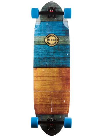 "Long Island Longboards Planks 9.8"" x 35.8"" Complete"