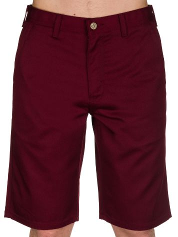 Free World Hooligan Shorts Burgundy