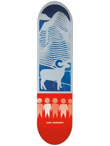 "Alien Workshop Paper Cuts Mountain 8.0"" x 31.625"" Deck"