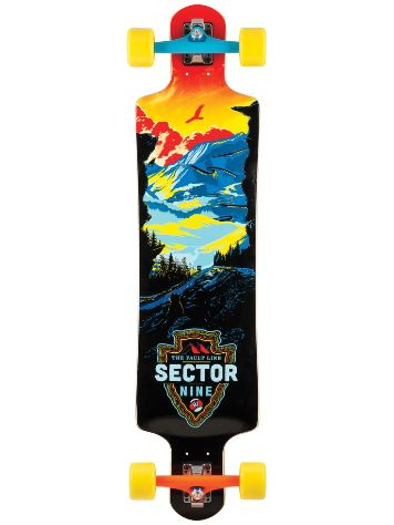 "Sector 9 Fault Line 9.5"" x 39.5"" Complete"