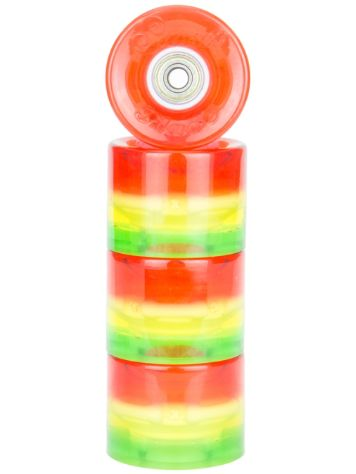 Sunset Skateboards Rasta 59mm Conical Cruiser Ruedas