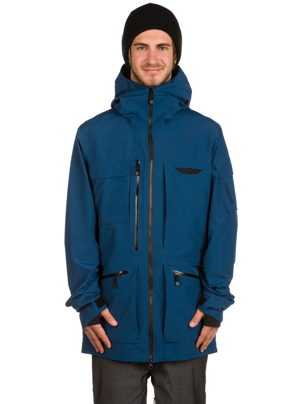 achetez norrona tamok gore tex veste en ligne sur blue. Black Bedroom Furniture Sets. Home Design Ideas