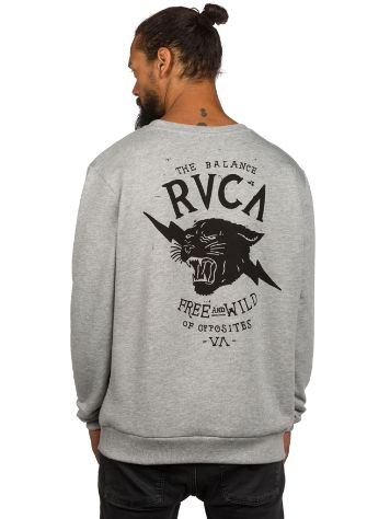 RVCA Free And Wild Crew Sweater