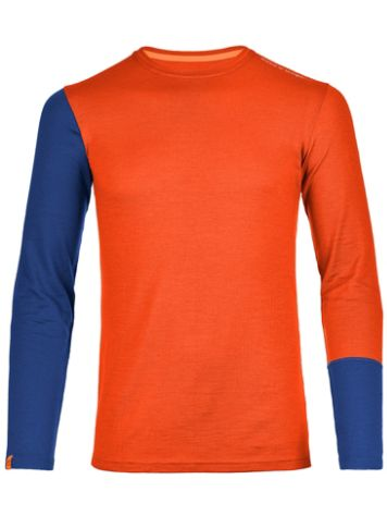 Ortovox Merino 185 Rock'n'Wool Tech t-shirt LS