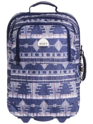 Roxy Wheelie Travelbag akiya combo blue print Gr. Uni
