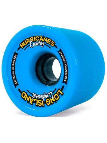Long Island Longboards Carving Blue 78A 69x55mm Ruedas