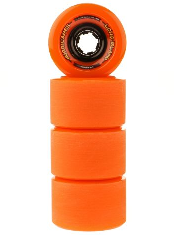 Long Island Longboards Hurricanes Orange 83A 70x47mm Ruedas