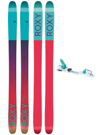 Roxy Shima 90 162 + Xpress11 2017 Freeski set
