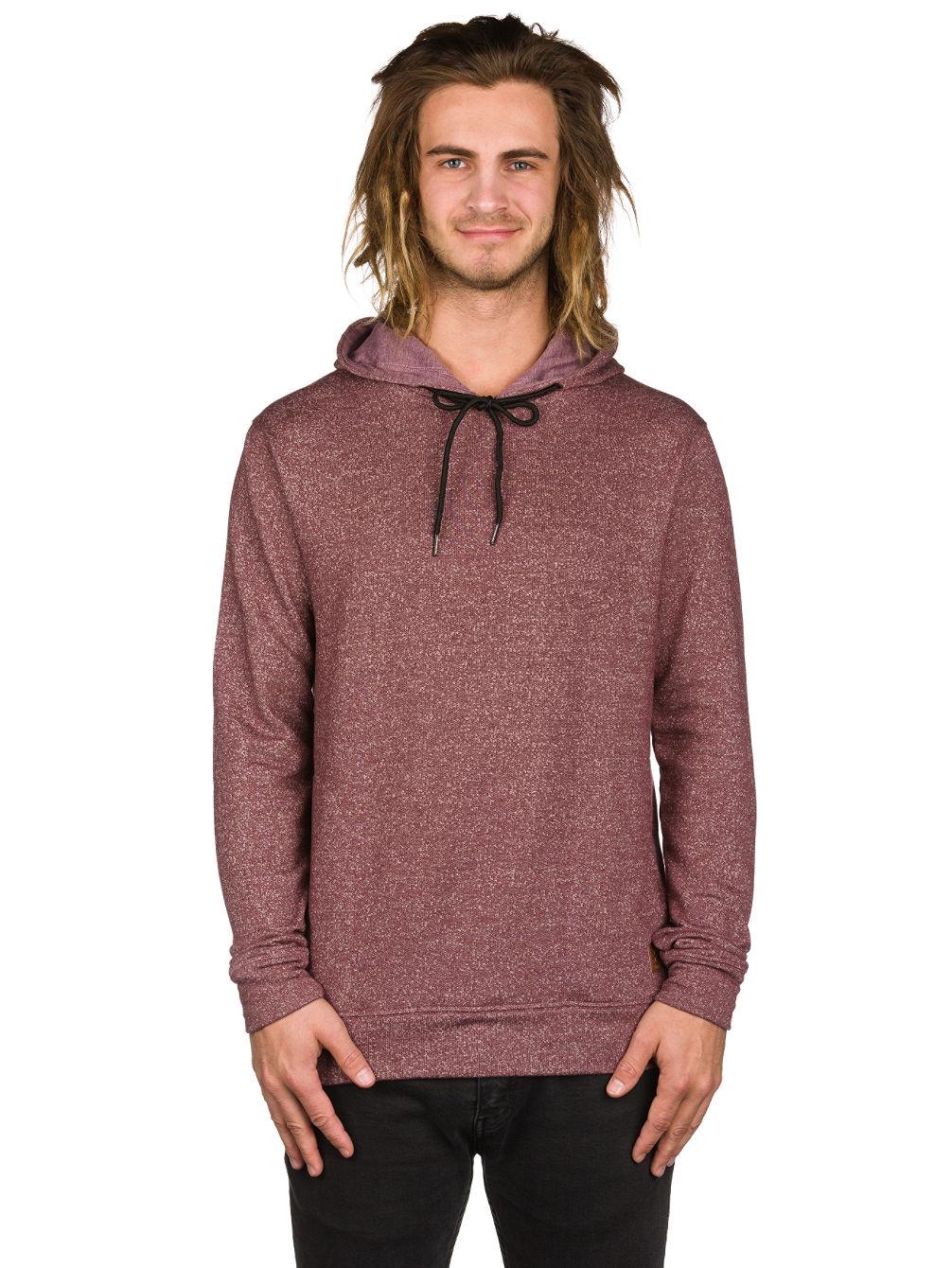 Blue pullover hoodie