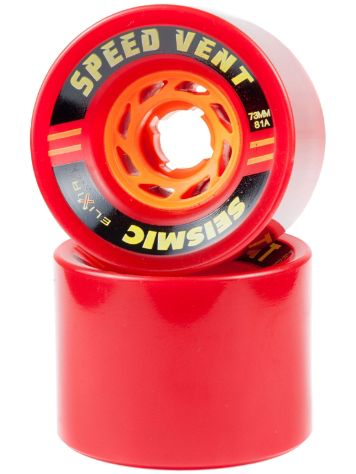 Seismic Speed Vent 81A 73x54mm red Rollen
