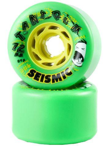 Seismic Tantrum 81A 72x45mm green Rollen