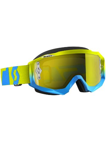 Scott Hustle MX oxide blue/green