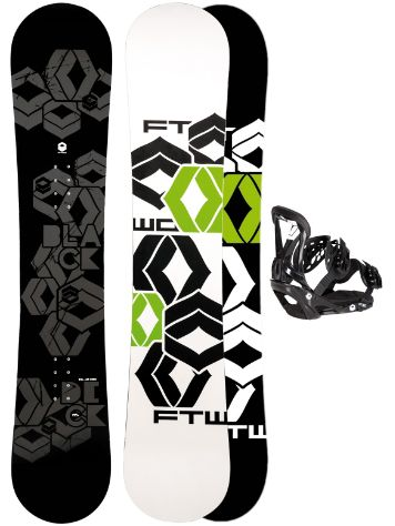 FTWO Blackdeck 157MW + Sonic SMO L Blk 2017 Snowboard Set