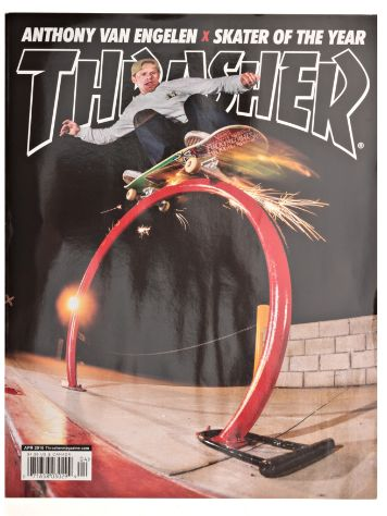 Thrasher Trasher Issue 2016 April