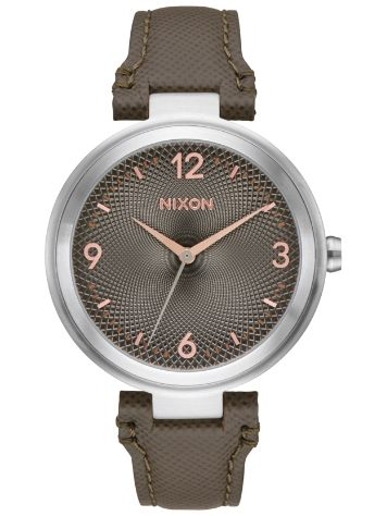 Nixon The Chameleon Leather Horloge