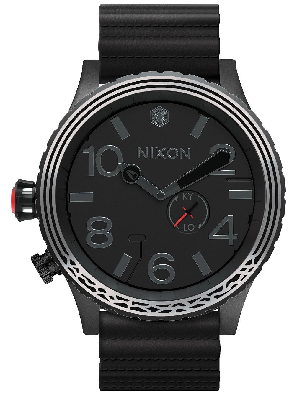 nixon the 51 30 leather star wars uhr online kaufen bei. Black Bedroom Furniture Sets. Home Design Ideas