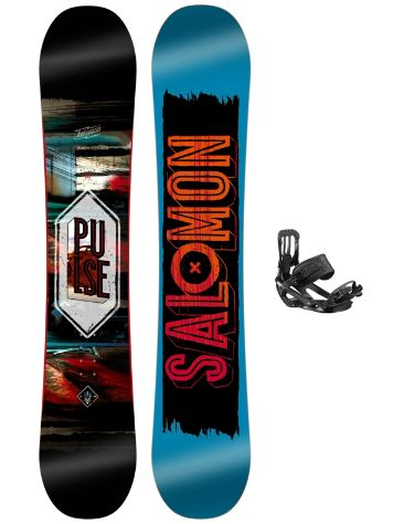 Salomon Pulse 156 + Pact 2017 Snowboard Set
