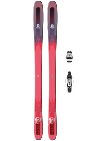 Salomon Qst Myriad 85 169 + Warden 11 L90 2017 Freeski set