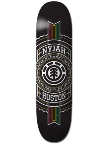 "Element Nyjah Rasta Stamped 8"" Skateboard Deck"