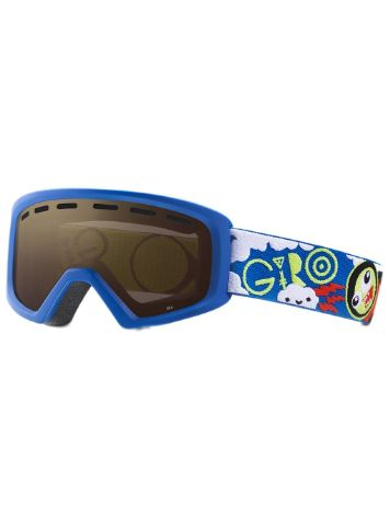 Giro Rev Blue/Lime Space Youth Máscara niños