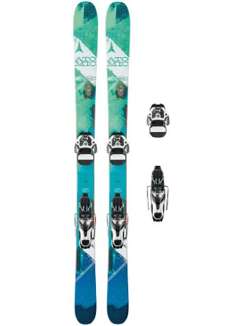 Atomic Vantage 95 C W 162 + Warden 11 2017 Freeski set